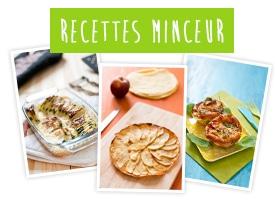 Recettes minceur, recettes légères, recettes light